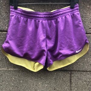 Nike women's Purple Dri-Fit Running Shorts Size S